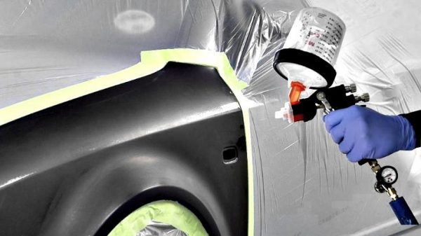 How to paint car body